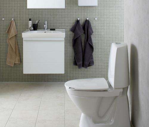 toilet med håndvask