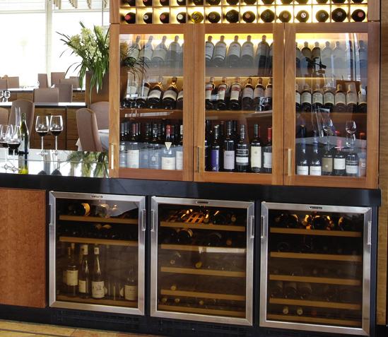 opbevaring vin