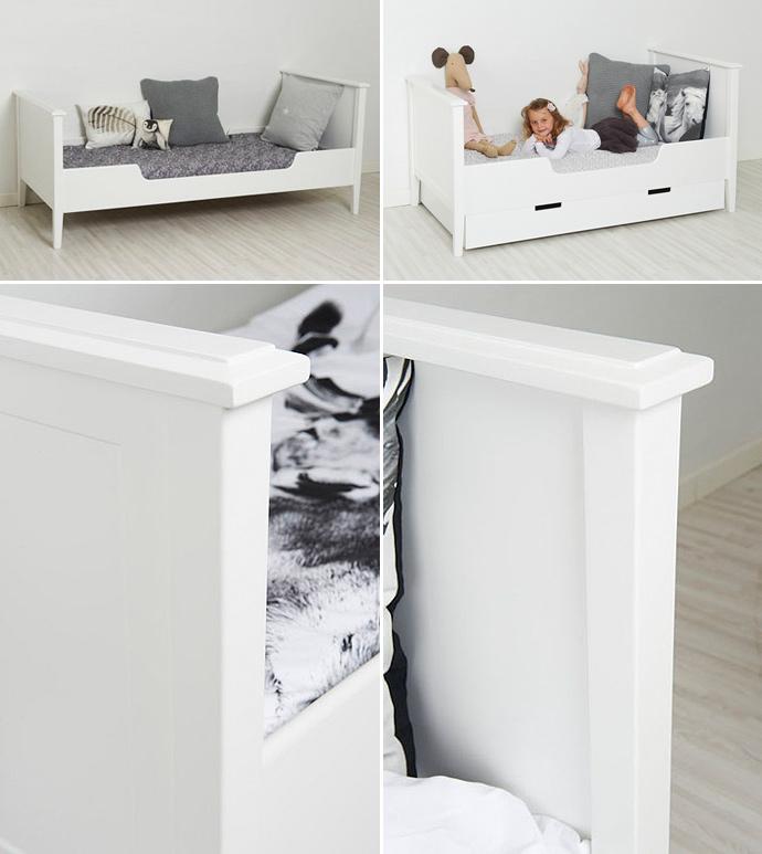 et hjem seng Alba fin og klassisk børneseng   bygogbolig et hjem seng