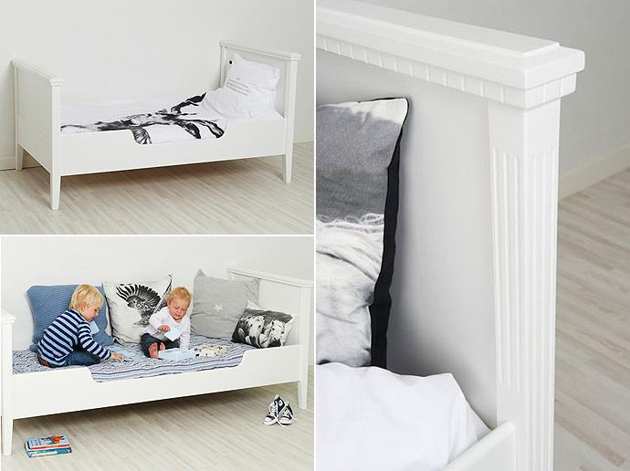 et hjem seng Den elegante børneseng Gustav   bygogbolig et hjem seng