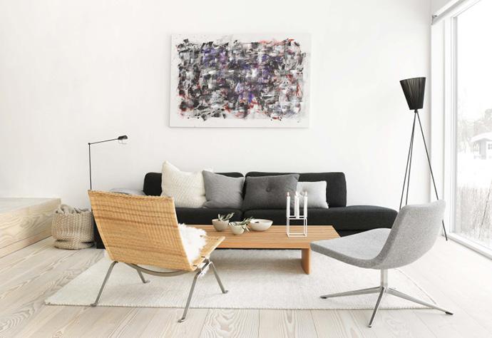 Fremragende Tips til indretning af den stilfulde stue - bygogbolig TO04