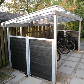 Moderigtigt Overdækning til din cykel - bygogbolig UK18