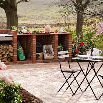 Inspiration til terrasse, indkørsel, have, belægning - bygogbolig